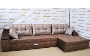 Угловой диван «КОМФОРТ-5 С ШИРОКОЙ ОТТОМАНКОЙ»
